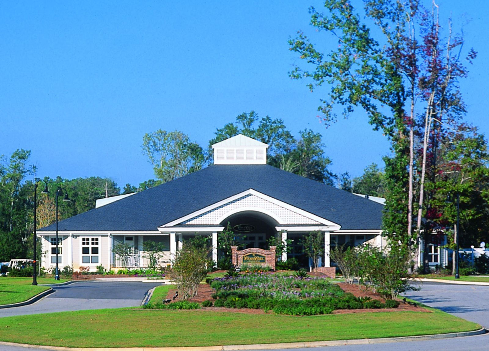 The Coosaw Creek Country Club clubhouse